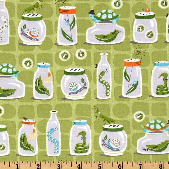 Backyard baby | Green fabric, Fabric, Jar