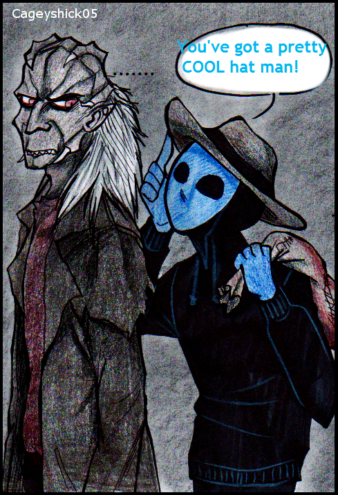 Jeepers Creepers And Eyeless Jack By Cageyshick05 On Deviantart Creepypastas Creppypasta Eyeless Jack