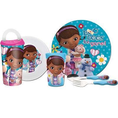 4582b303c67c Doc McStuffins Kids Mealtime Set for sale   Doc McStuffins   Zak in ...