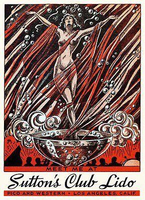 CARNAVAL de Panama 1936 VINTAGE travel poster 24X36 FIESTA QUEEN hot new