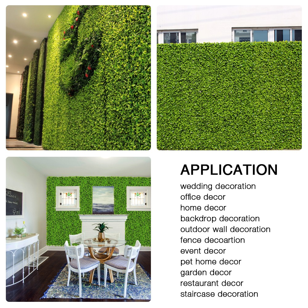 uland artificial hedges panels artificial privacy hedges on interior using artificial boxwood panels with flowers id=29559