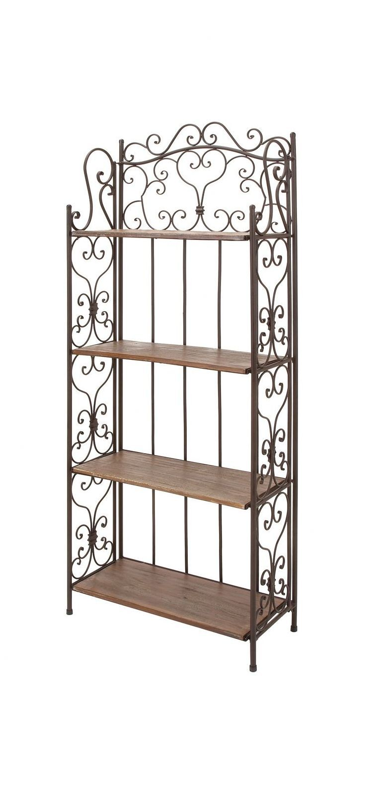 Josette Baker S Rack With Images Metal Furniture Bakers Rack