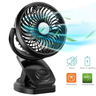 Top 10 Best Mini Fan With Clip In 2020 Reviews Portable Fan