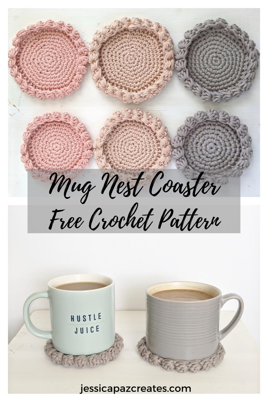 Photo of Free Crochet Coaster Pattern