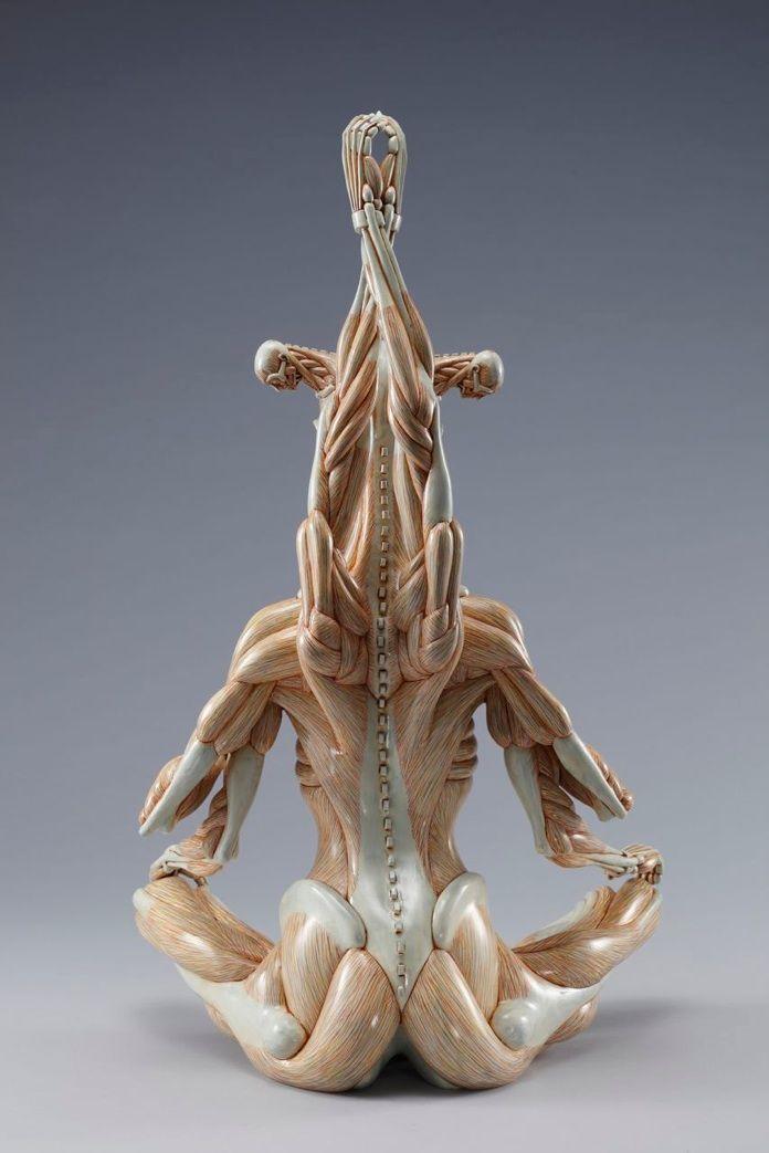 Alien Anatomy Sculptures by Masao Kinoshita | Anatomy sculpture ...