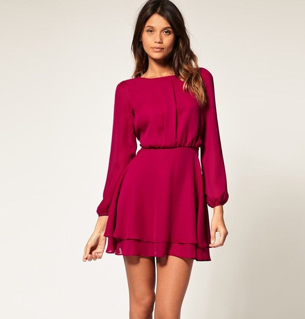 Long sleeve short dress sale | My Style | Pinterest | Day dresses ...