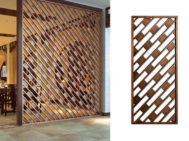 Decorative screens cloisons pinterest cloison claustra et paravent for Deco laser maison