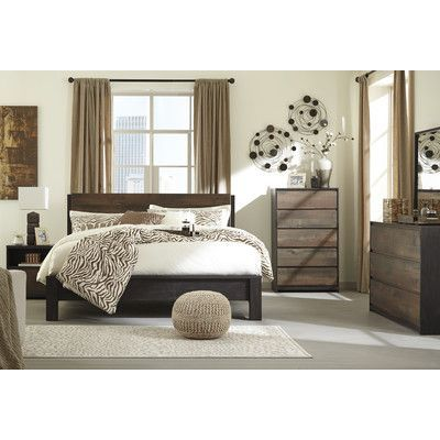 Signature Design by Ashley Windlore Panel Customizable Bedroom Set