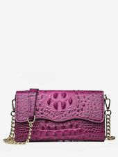 Photo of 2020 Women's Bag Models Purple Chain Strap Pattern- 2020 Bayan Çanta Modelleri …