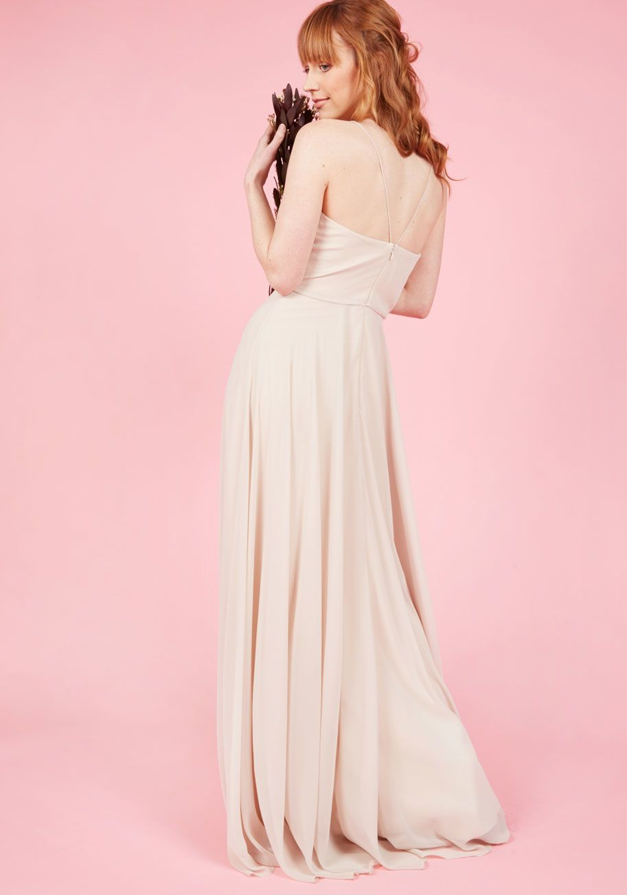 Jenny Yoo The Essence of Enchantment Maxi Dress in Taupe   Pinterest