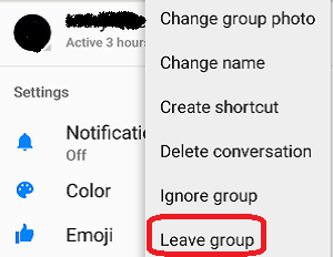 How Do I Remove Myself From A Messenger Group How To Leave A Group In Messenger Ways And Guide If You Want To Get O How To Remove Messenger General Knowledge