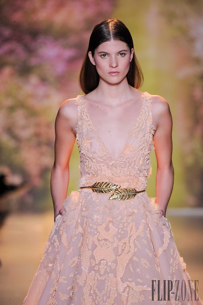 Zuhair Murad - Couture - Spring-summer 2014 - http://www.flip-zone.net/fashion/couture-1/fashion-houses/zuhair-murad-4460 - ©PixelFormula