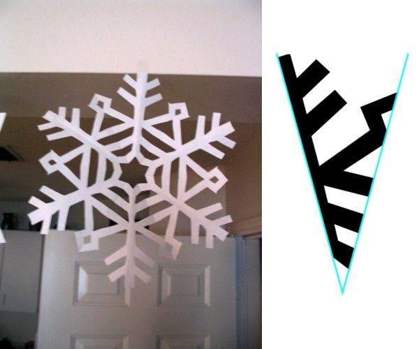 How to cut beautiful paper snowflakes