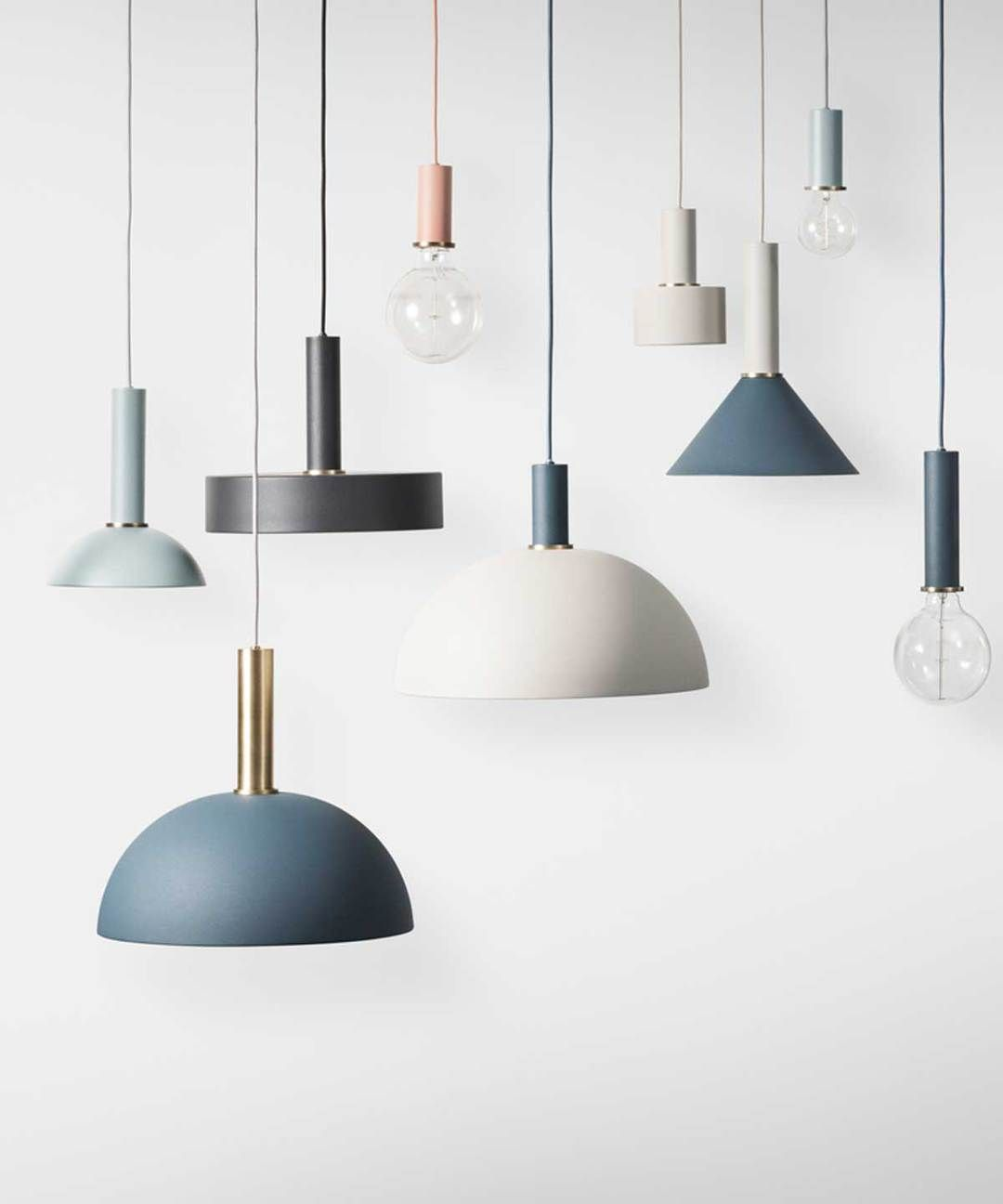 Collect Disc Pendant In 2020 Metal Table Lamps Lighting Collections Modern Scandinavian Design