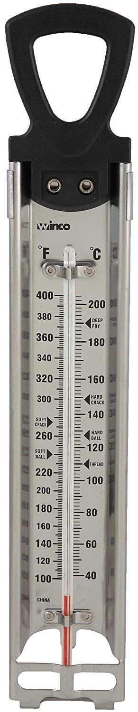 Amazon Com Winco Freir Caramelo Termometro Con Colgantes Anillo