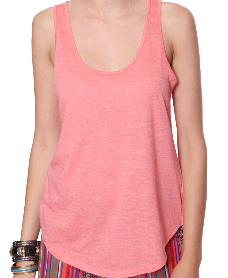 never underestimate the power of a good racerback tank.