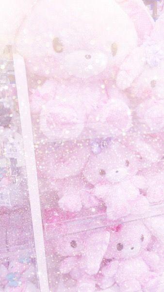 Pinterest Octwilight Pink Aesthetic Glittery Wallpaper Cute