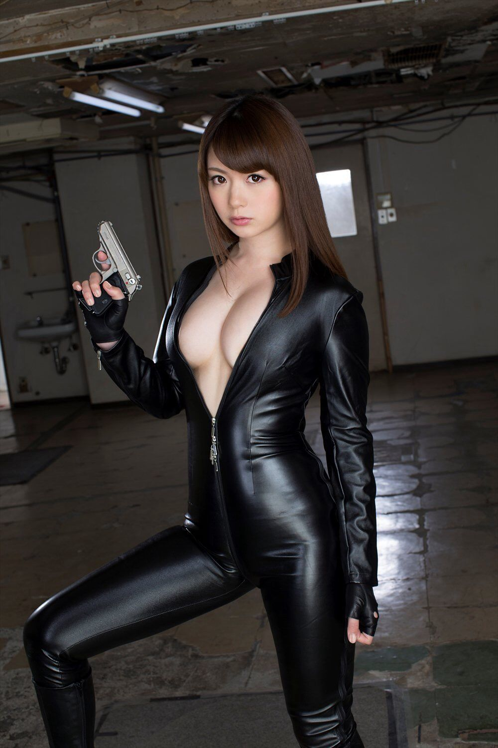Something is. asian girls in latex mistaken