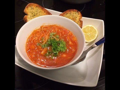 How To Make Tomato Soup With Vermicelli - آموزش سوپ گوجه فرنگی با ورمیشل