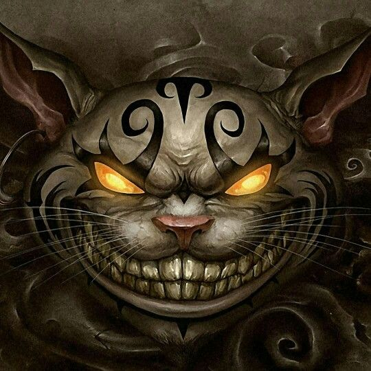 A Slightly Creepy Version Of The Cheshire Cat Dark Alice In Wonderland Alice Madness Returns Alice Madness