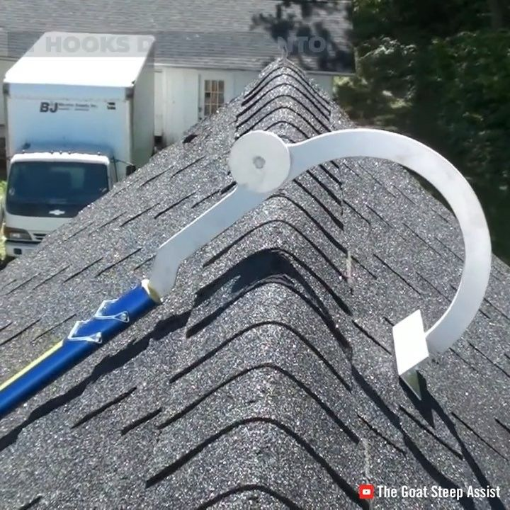 Interesting Engineering On Instagram This Special Ladder Makes Climbing Up And Down The Roof Safer Roof Ladder Roof Ladder