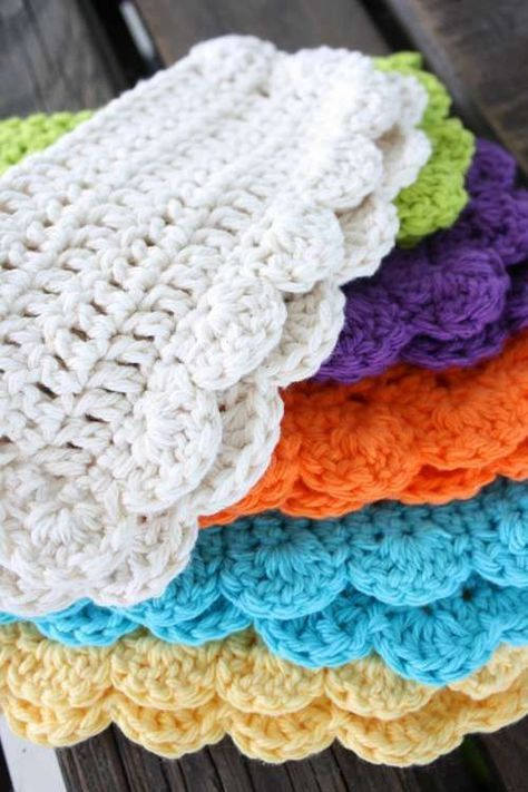 Mary Jane\'s Farm - pattern for crochet dish cloth - Use 100% cotton ...
