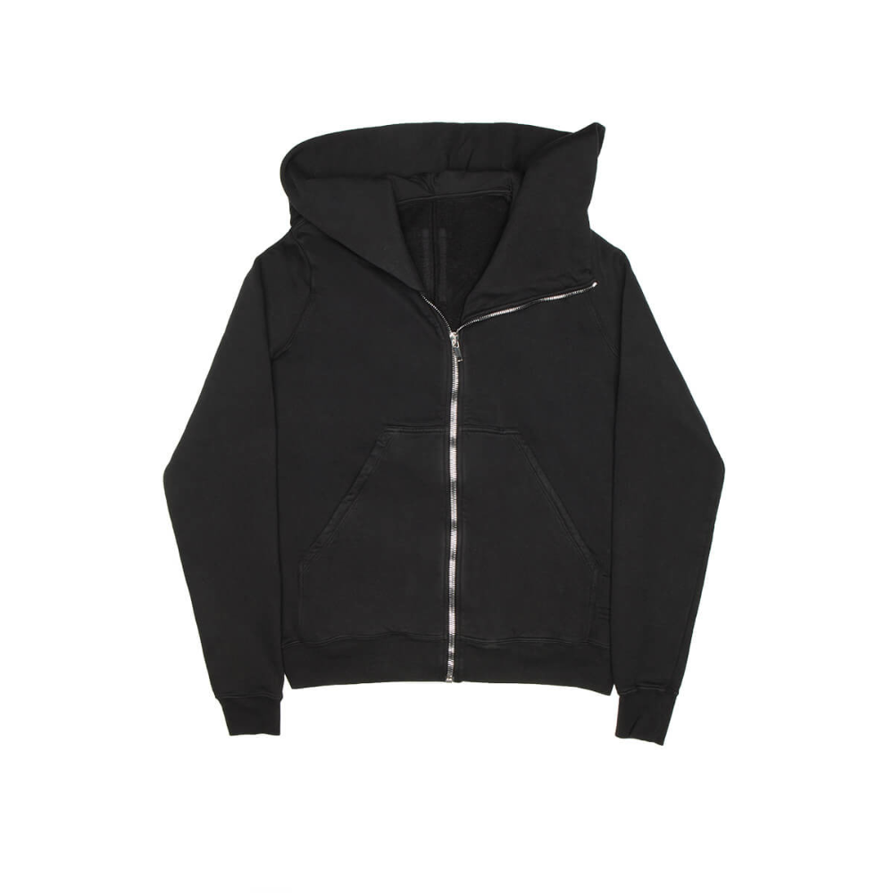 Mountain Hoodie From The F W2019 20 Rick Owens Drkshdw Collection In Black Hoodies Rick Owens Drkshdw Rick Owens