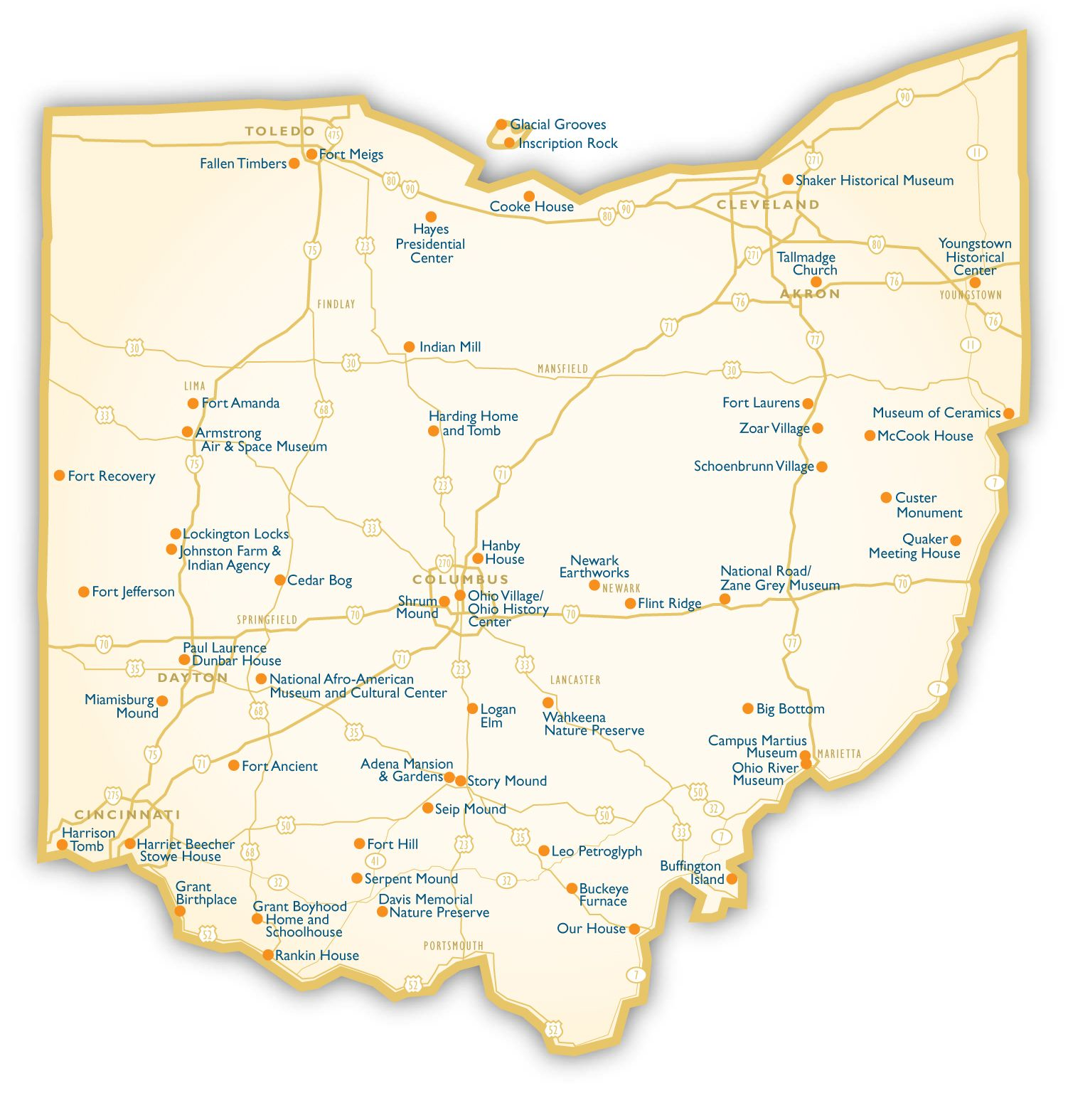 maps ohio  Map of Ohio Cities  Ohio Road Map  c  Pinterest