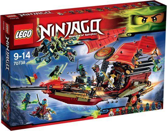 Lego Bounty Laatste 70738 Van De Ninjago Destiny's Vlucht 5R4jc3qSAL