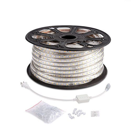 Le 164ft Flexible Led Strip Lights 3000 Units Smd 5050 Leds 3000k Warm White 720lm M 110 120 V Ac Water Led Rope Lights Led Strip Lighting Strip Lighting