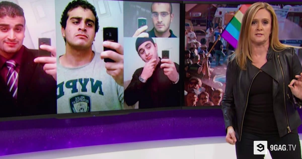 "Watch Samantha Bee's Angry But Powerful Speech On The Orlando Shootings: ""F**k It"" - 9GAG.tv"