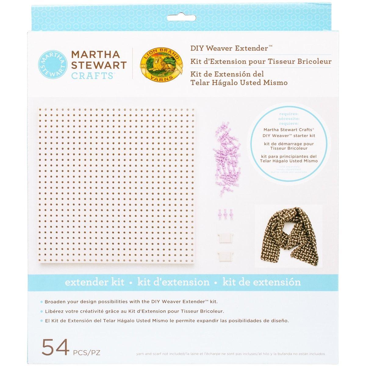 Lion Brand Martha Stewart Crafts DIY Weaver Extender Kit-