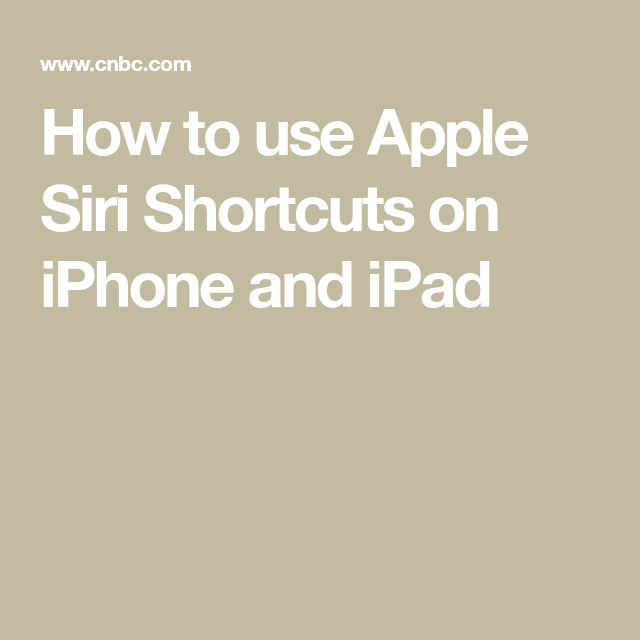 How to supercharge Siri on the iPhone and iPad with a