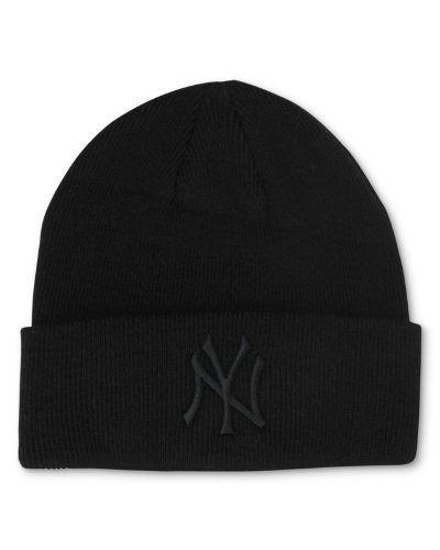 776fc10118b New York Yankees Black Tonal Beanie Hat - MLB NY Cuffed Winter Knit Cap by  MLB