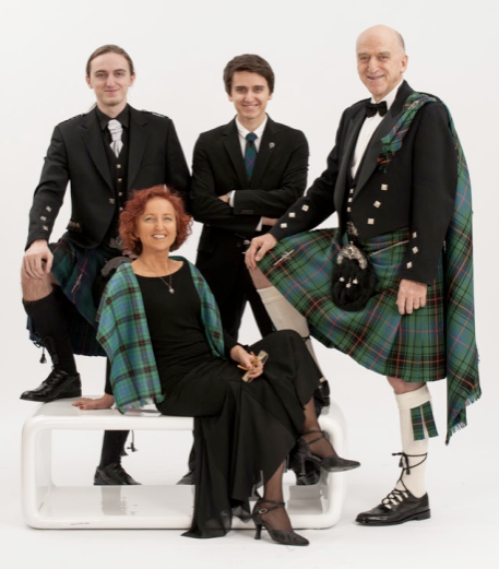 "Our customer Albert Davy from Austria purchased kilt packs for himself and his sons from Houston's and were photographed in their highland wear on 31st December 2012 at the New Year's Eve Ball in The Vienna Imperial Castle. Some guests there believed Albert to be the Scottish Ambassador as his outfit was worn to perfection! Albert said ""We had so much fun an received a lot of honours when I said ""I'm a semi-Scotsman"" telling the story of my ancients in Dumbarton"""