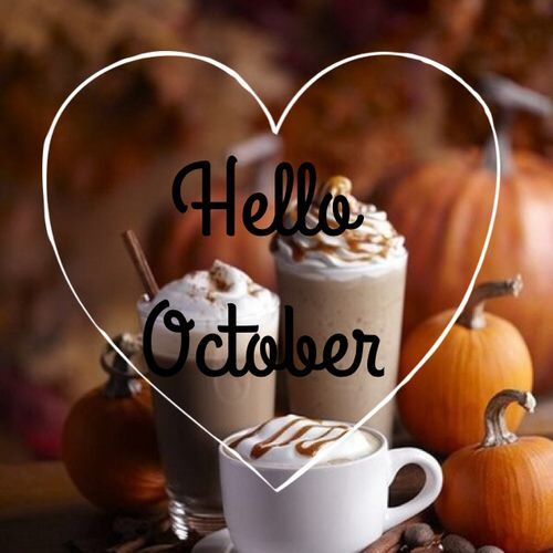 Attirant Hello October, Good Bye September