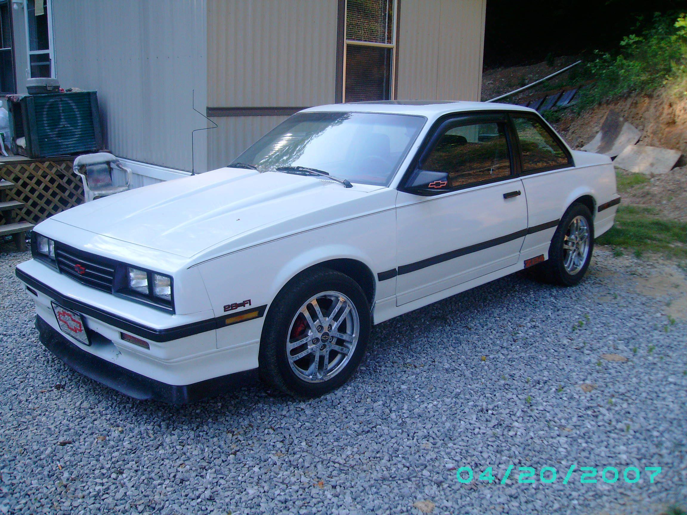 white 1986 chevy cavalier z24 my 2nd car  [ 2304 x 1728 Pixel ]