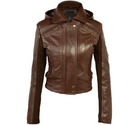 Lohan Black Ladies New Biker Retro Designer Real Lambskin Leather Fashion Jacket