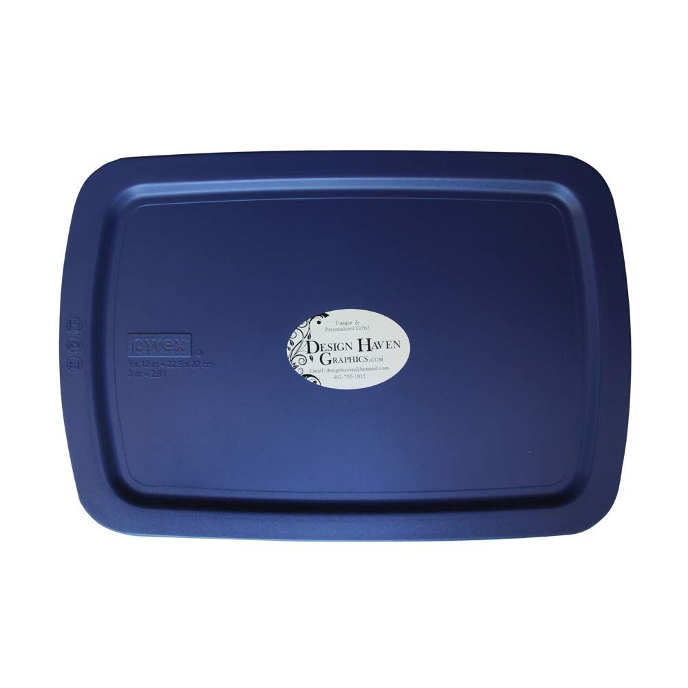 Design haven graphics etched casserole dish gameday