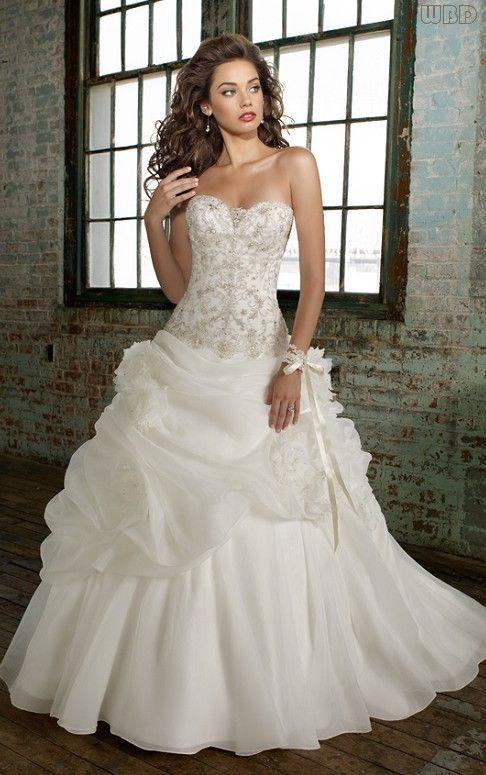 wedding dress wedding dresses | Wedding Gowns To Die For | Pinterest ...