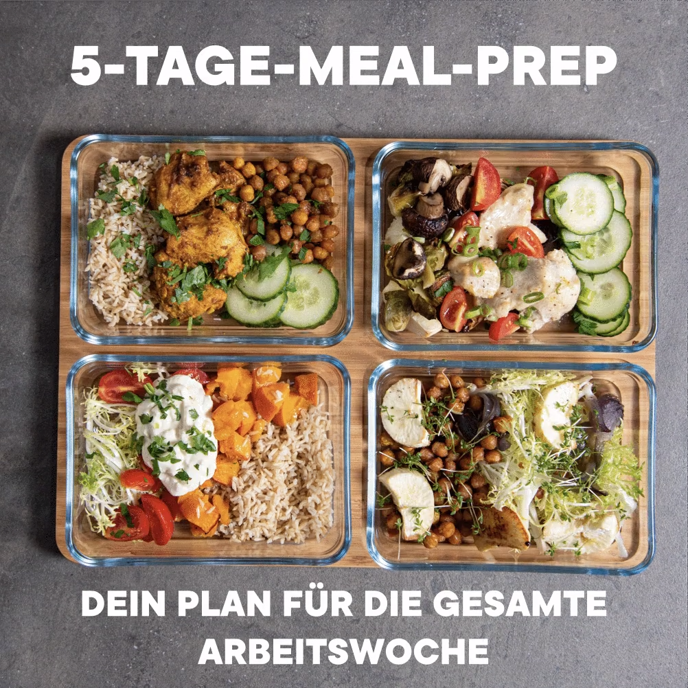 Photo of 5-Tage-Meal-Prep Guide