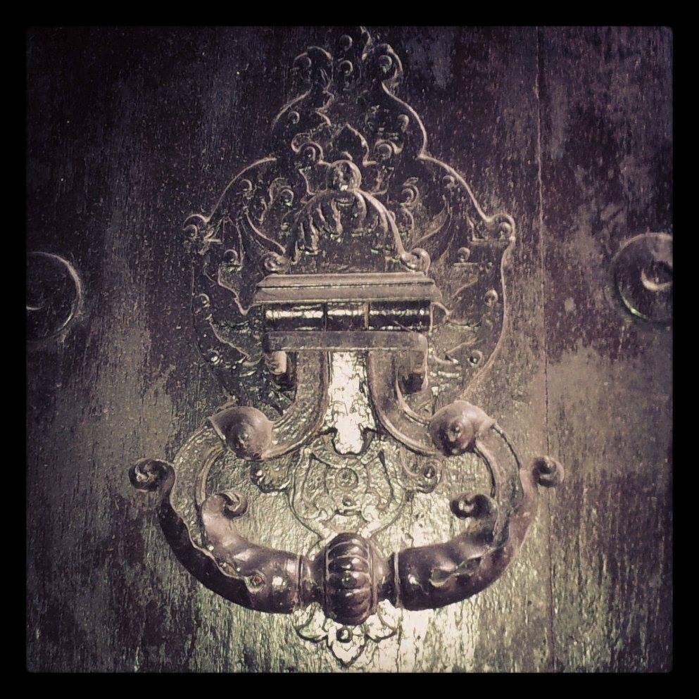 Détail poignée porte hôtel d'Avizard (1686) 24 rue Nazareth Toulouse
