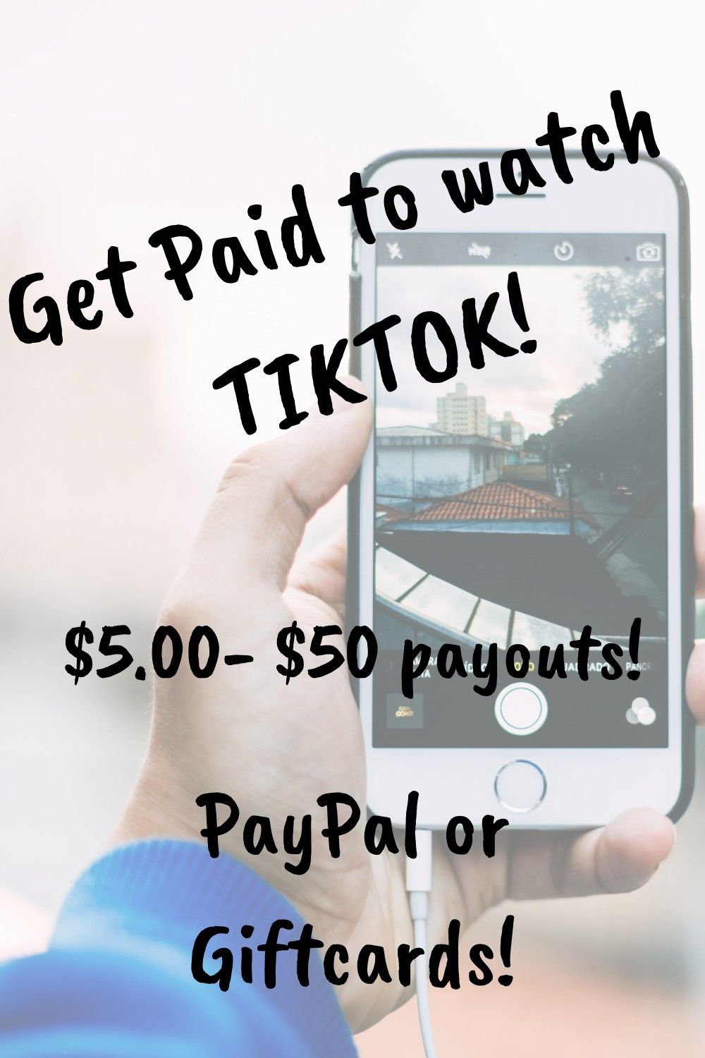 Get Paid To Watch Tiktok Watch Funny Videos Be Your Own Boss Quick Money
