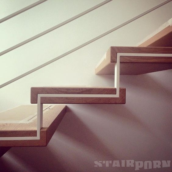 Best Slim Stringer Set In Wood Stairporn Org Staircase 400 x 300