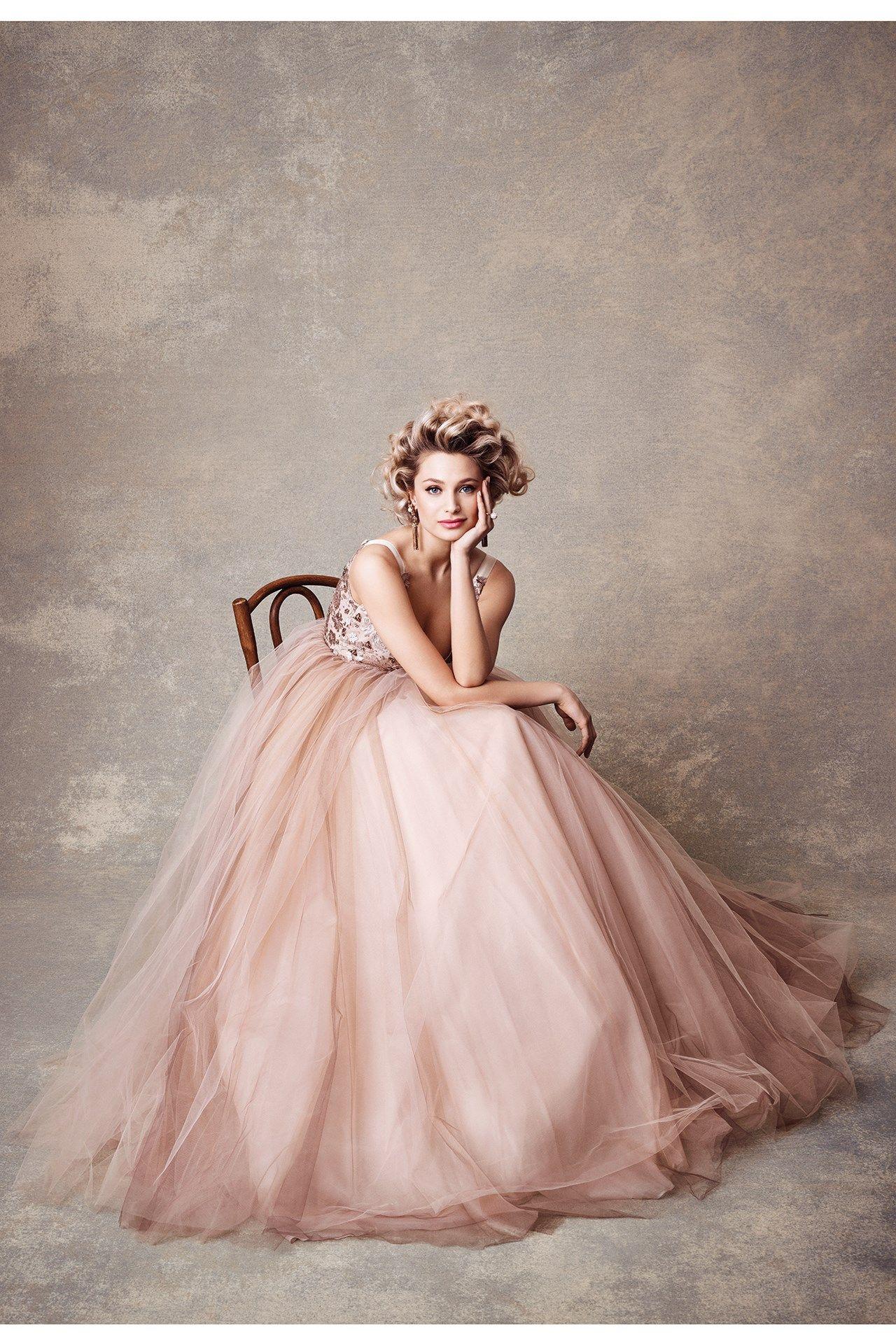 Pink Wedding Dress Inspiration Bridesmagazine Co Uk