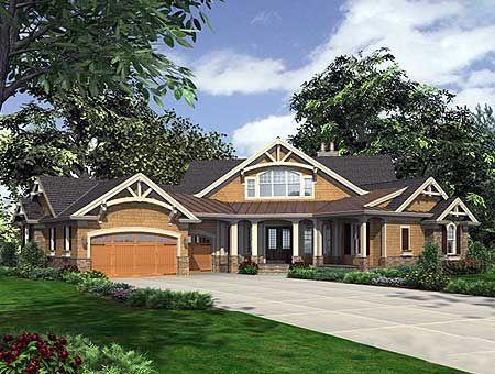 Plan 23252jd Dramatic Craftsman House Plan Craftsman Style House Plans Craftsman House Craftsman House Plans