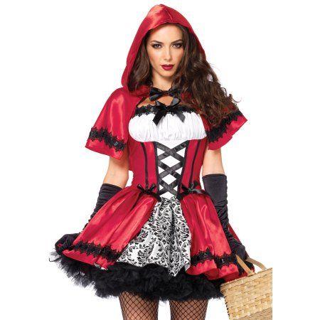 Photo of Women's Gothic Red Riding Hood Costume – Walmart.com