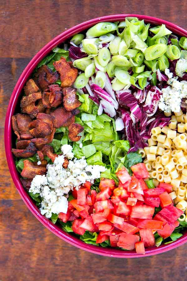 This is the salad that everyone always raves over and must