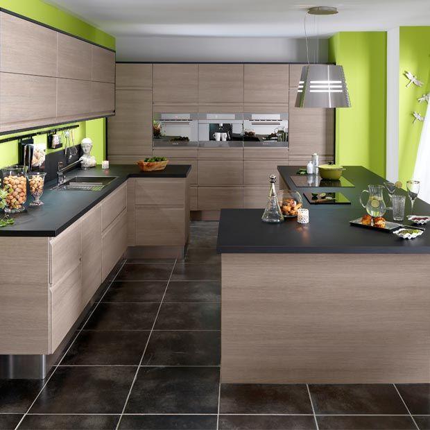 cuisine lapeyre urban bois flott cuisine pinterest. Black Bedroom Furniture Sets. Home Design Ideas