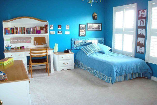 Chambre d\'enfant et d\'ado: 105 idées pour filles et garçons | Bleu ...